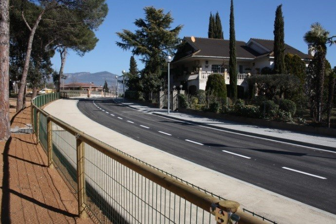 Terminamos satisfactoriamente las obras de reforma de urbanización de la calle Forn al municipio de Sta. Eulàlia de Ronçana