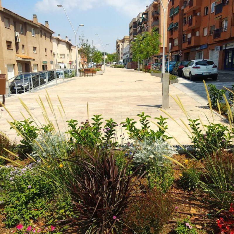 GESA S.L realiza con éxito el proyecto singular y la dirección de las obras de la re-urbanización de la carretera de Sentmenat (Polinyà)