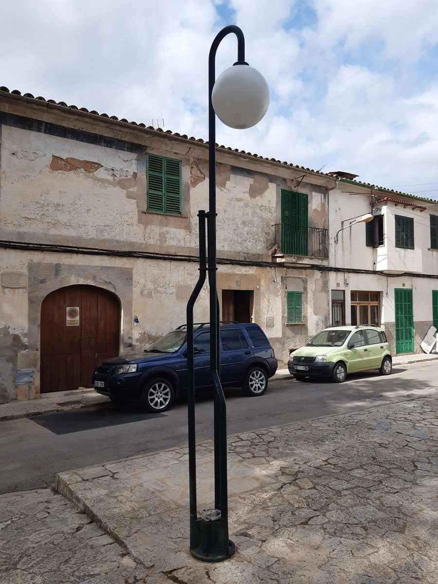 GESA SL. autora del proyecto de renovación del alumbrado público de Campos en Mallorca